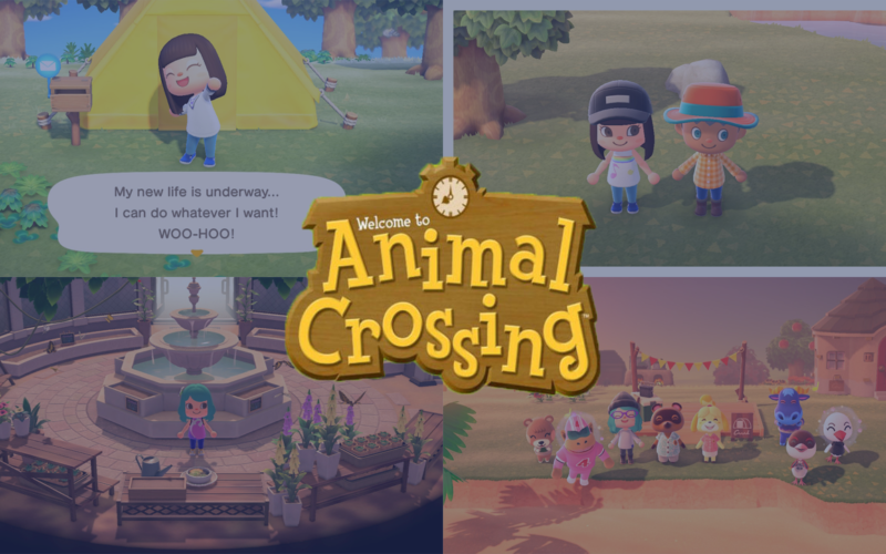 Animal Crossing One Year Later with screenshots from over the last 12 months