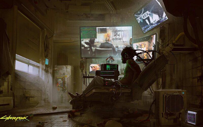 Cyberpunk 2077 high-res concept art