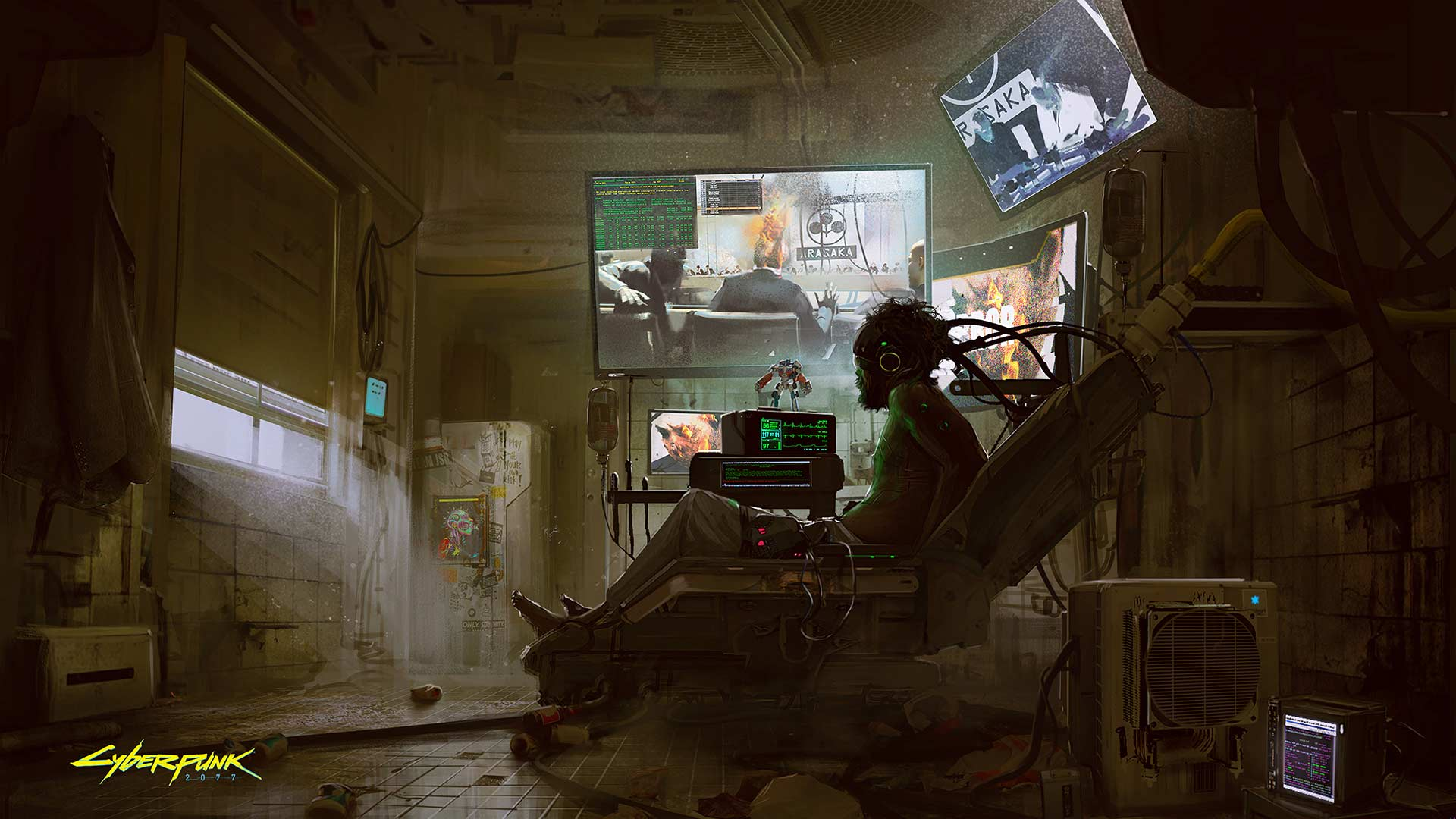 Cyberpunk 2077 high-res concept art