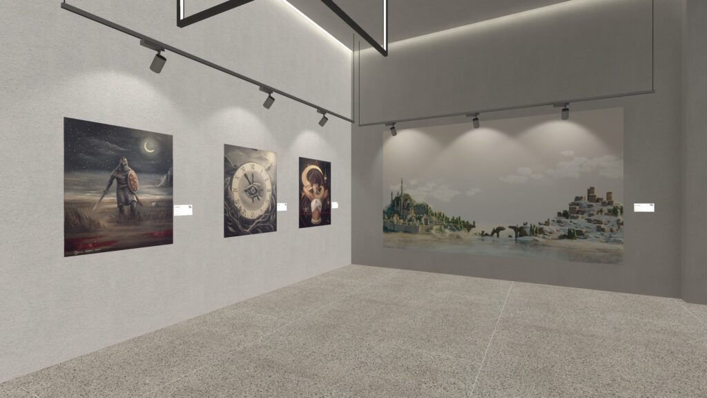 The Art of Fury Digital Art Gallery