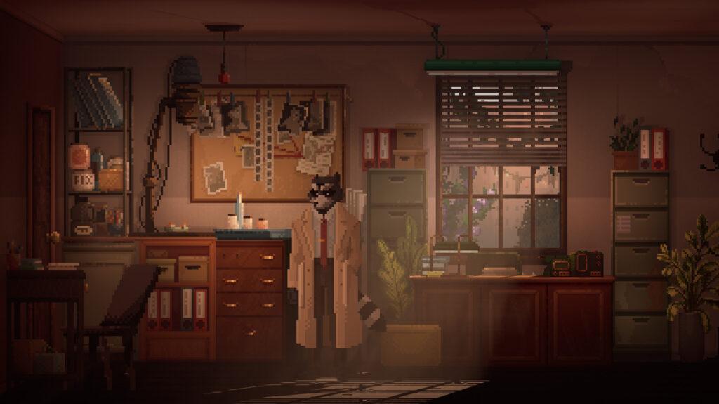Screenshot from Backbone